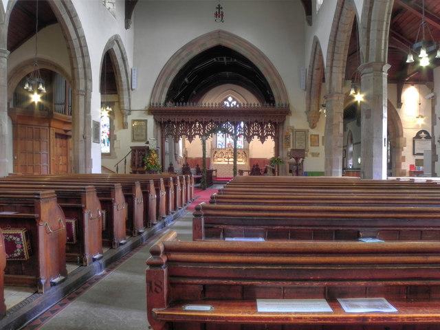Church of St Nicholas (interior)