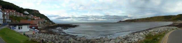 Runswick Bay Panorama