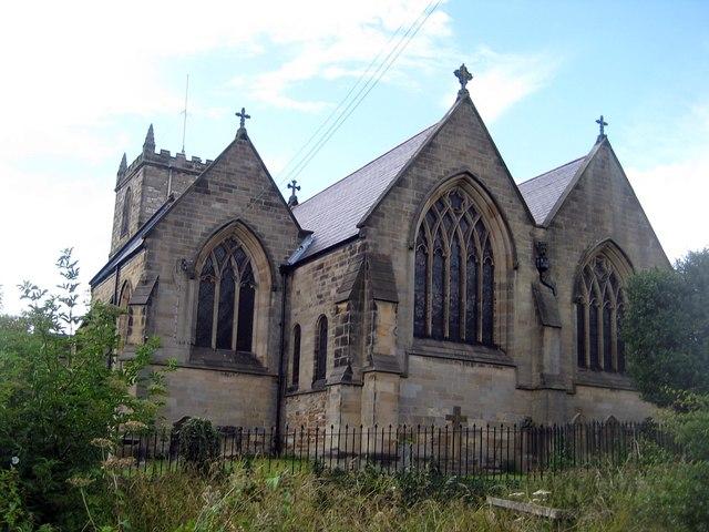 All Saints, east windows