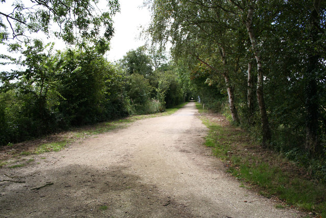 Once the railway line to Woodhall Spa