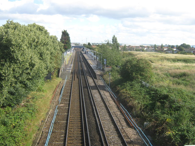 Railway to Slade Green Railway Station