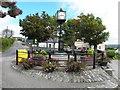 G9459 : Town clock, Belleek by Kenneth  Allen