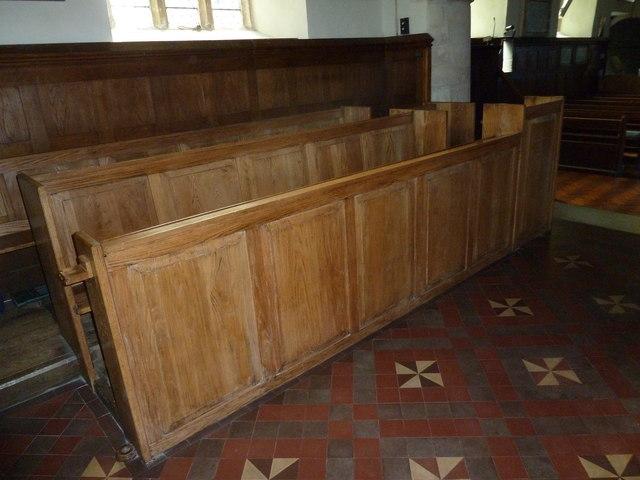 All Saints, Upper Clatford: choir stalls