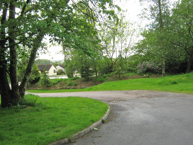 The driveway to Conifers Leisure Park