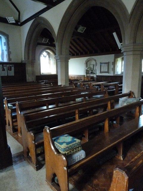 All Saints, Upper Clatford: nave