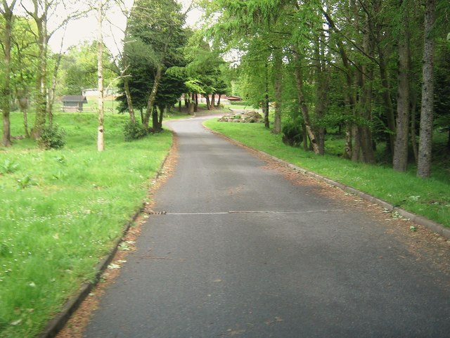 Approaching Conifers Leisure Park