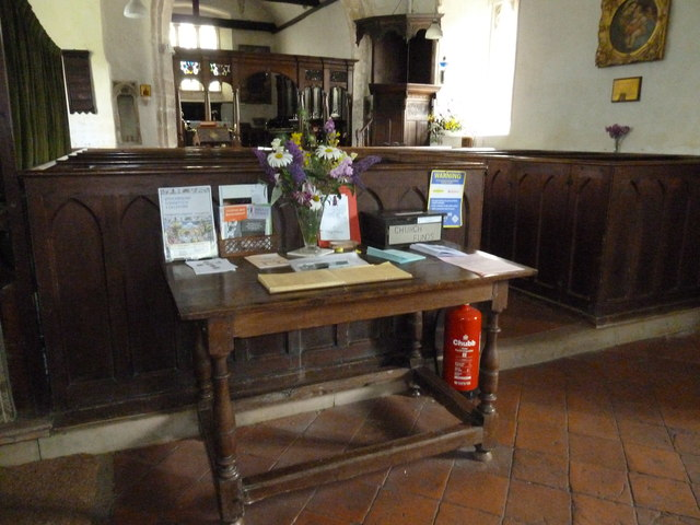 A warm welcome to St Nicholas, Leckford