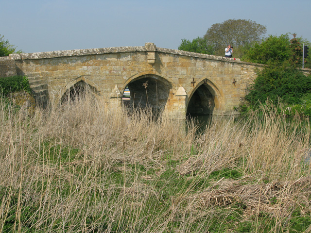 Radcot Bridge over the Thames