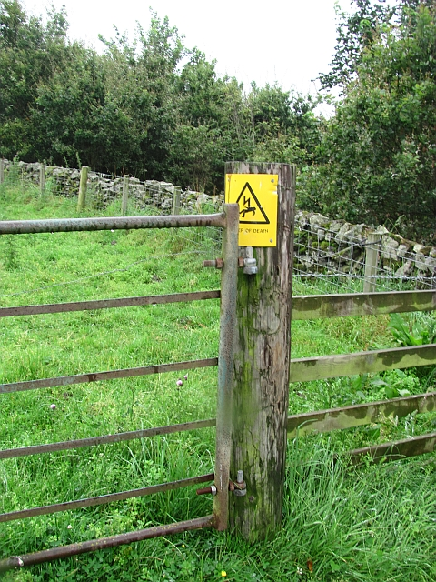 You have to watch these electric fences