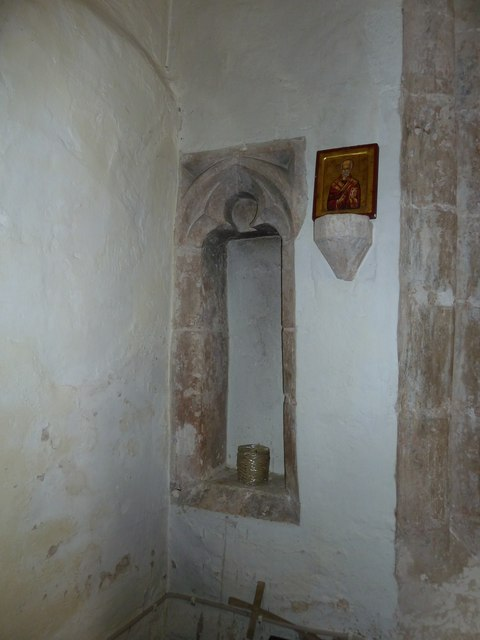 A quiet corner within St Nicholas, Leckford