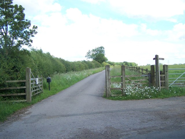 Bridleway To Thorpe In The Glebe