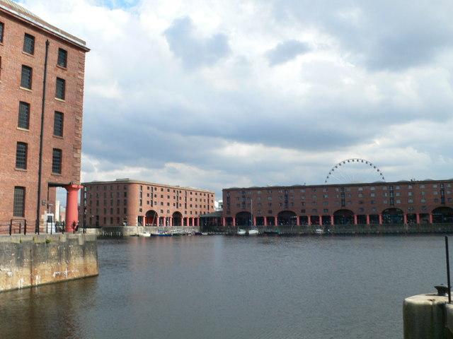 View across the Albert Dock, Liverpool