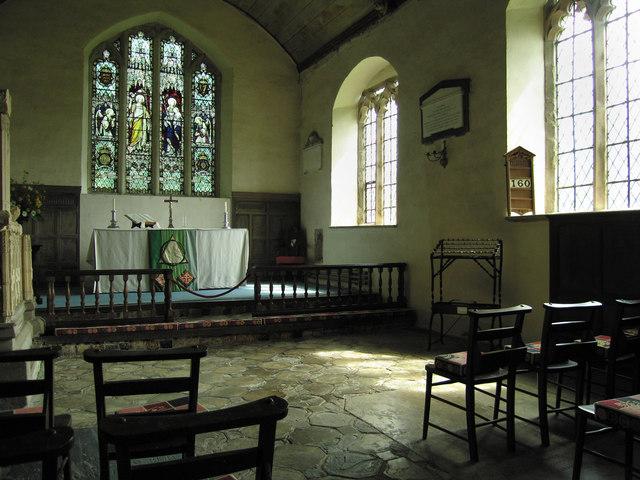 Inside St.Michael & All Angels church (2)