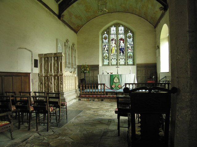 Inside St.Michael & All Angels church (1)