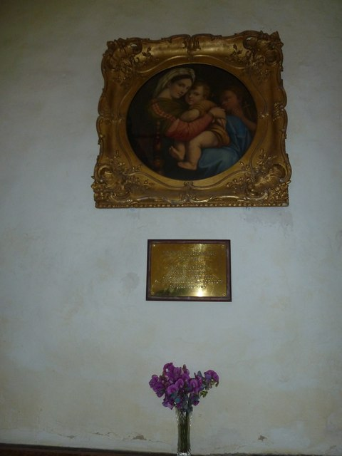 St Nicholas, Leckford: Madonna and Child