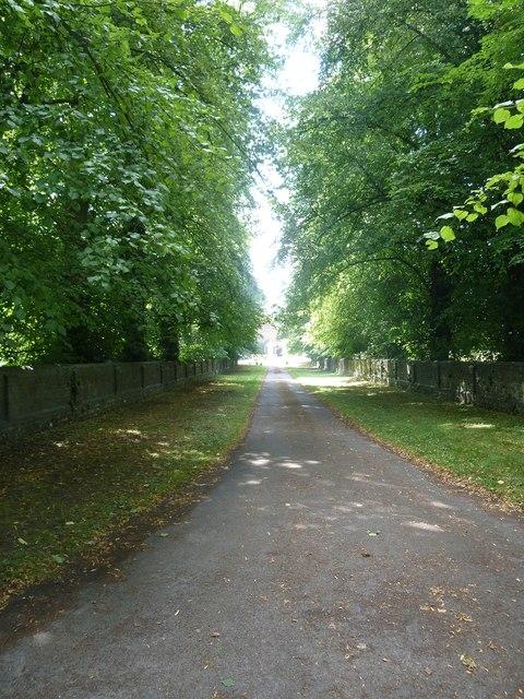 Saint Andrew, Hurstbourne Priors: access road