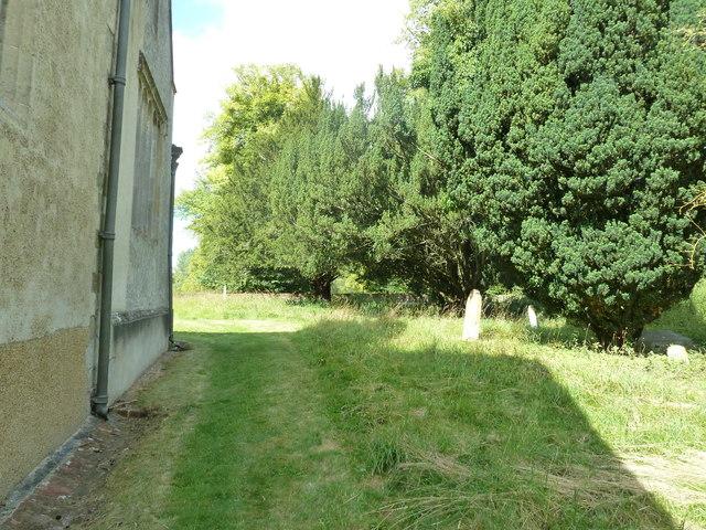 Saint Andrew, Hurstbourne Priors: churchyard (c)