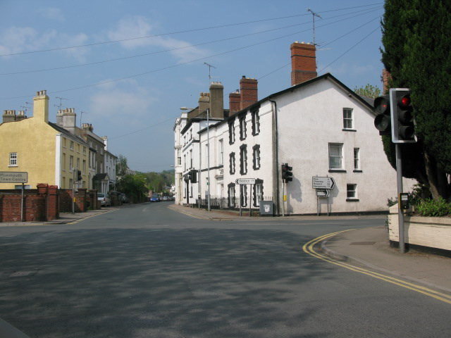 View along Monk Street and The Parade