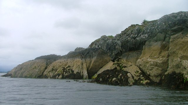 Coastline on Fionn Ard