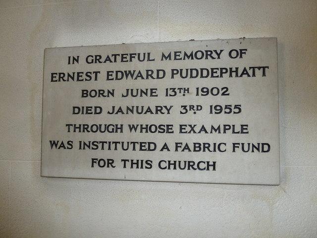 Saint Andrew, Hurstbourne Priors: memorial (3)