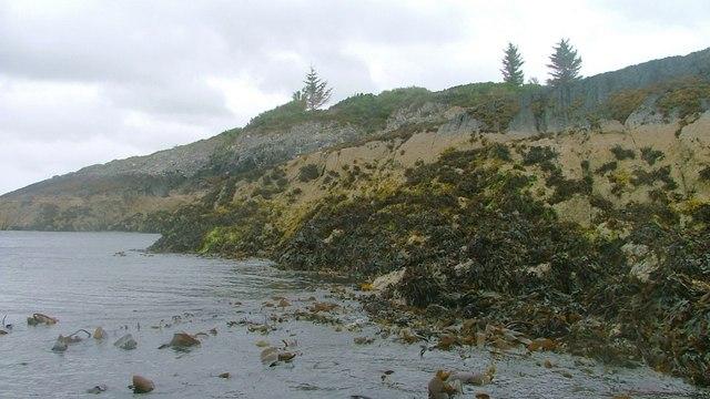 Shoreline on Garbh Ard