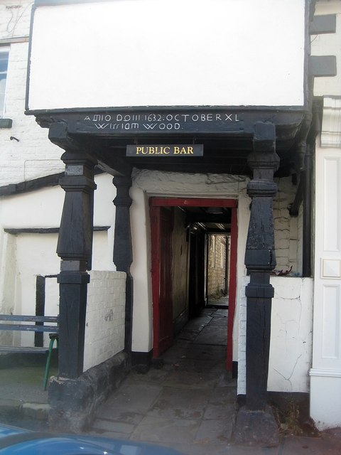 Former Old Black Swan entrance