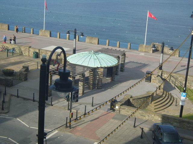 The promenade Isle of Man