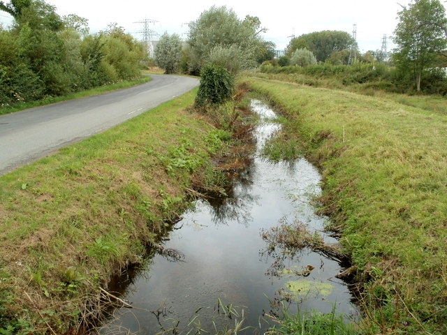 Monks' Ditch north of Whitson