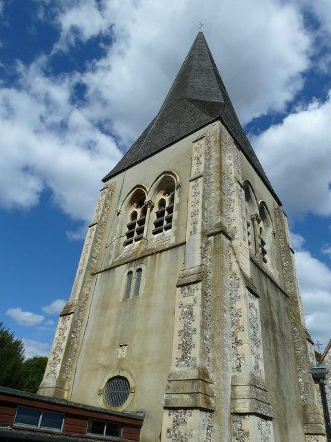 Whitchurch-All Hallows: church spire