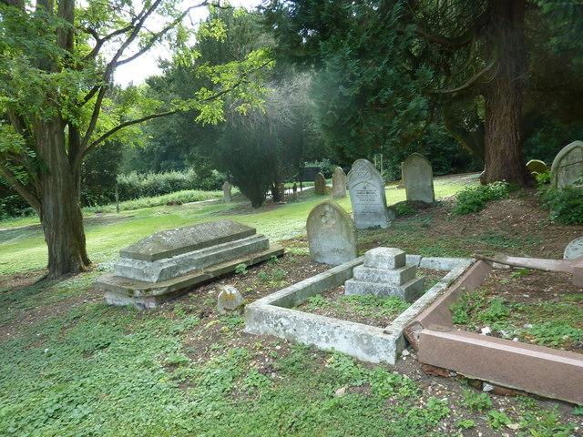Whitchurch-All Hallows: churchyard (3)