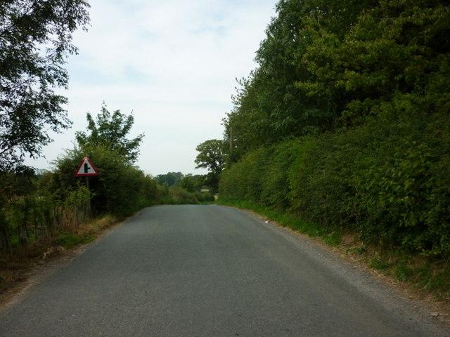 Brearton Lane approaching Green Lane