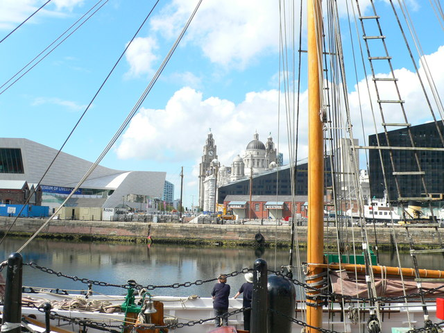 Dockside view, Liverpool