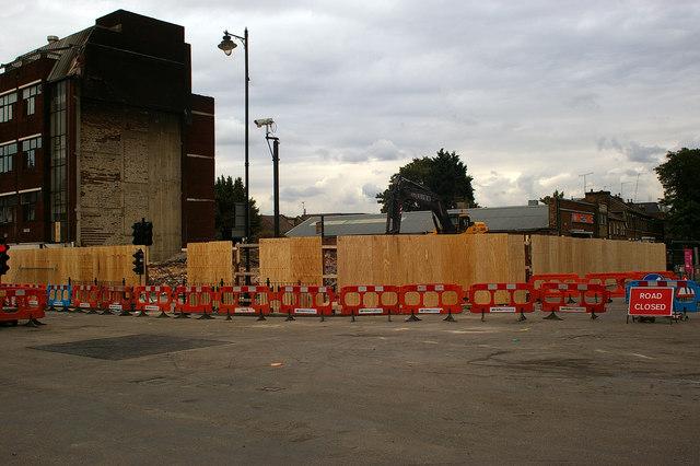 Site of demolished building, Tottenham