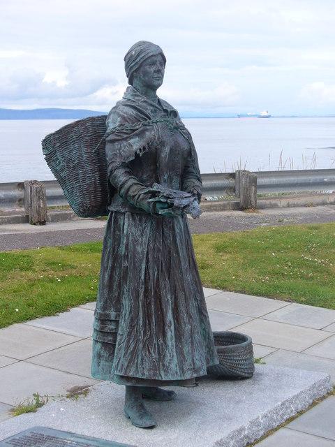 Nairn Fishwife Statue