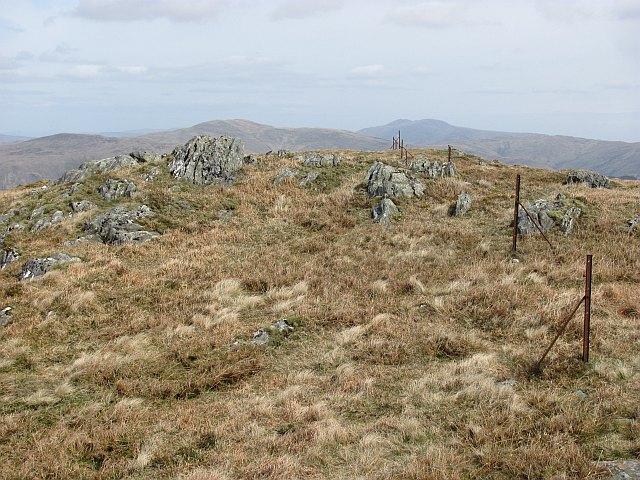 The summit of Beinn Chochan