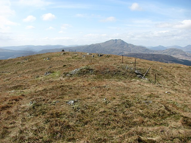 Summit ridge, Beinn Chochan