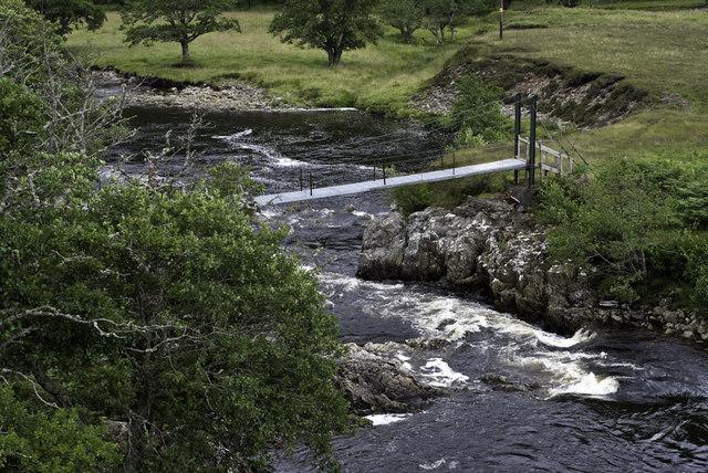 Footbridge on the Meig