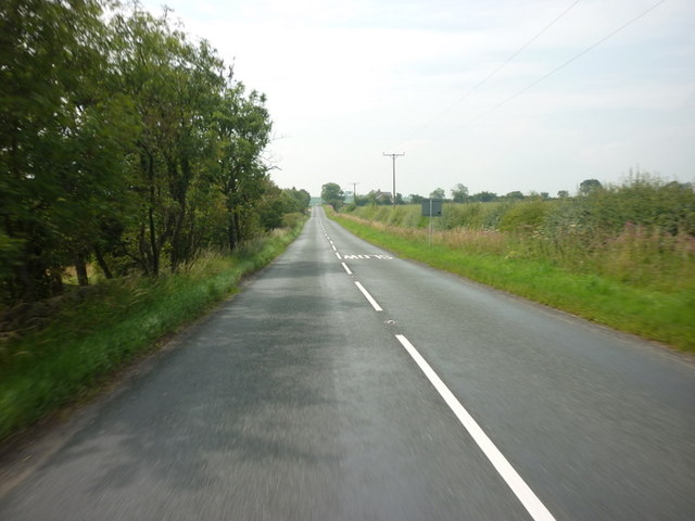 Looking south down Otley Road