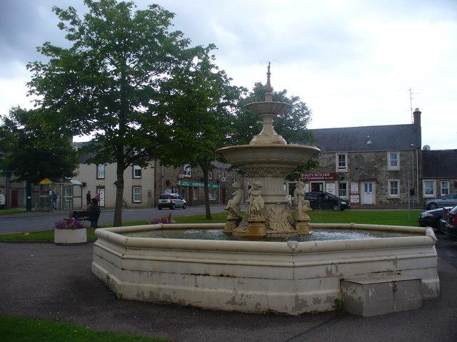 Fountain, Fochabers Square