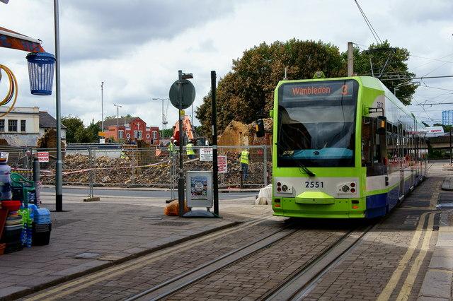Croydon Riots - trams back running