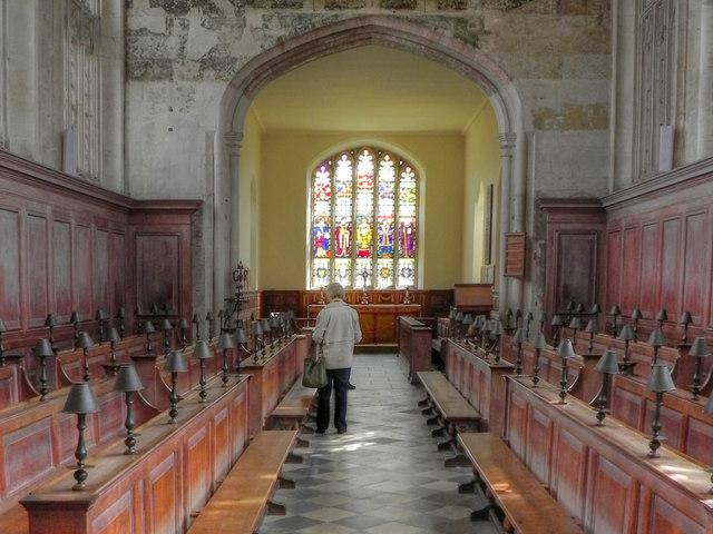 The Guild Chapel (interior)