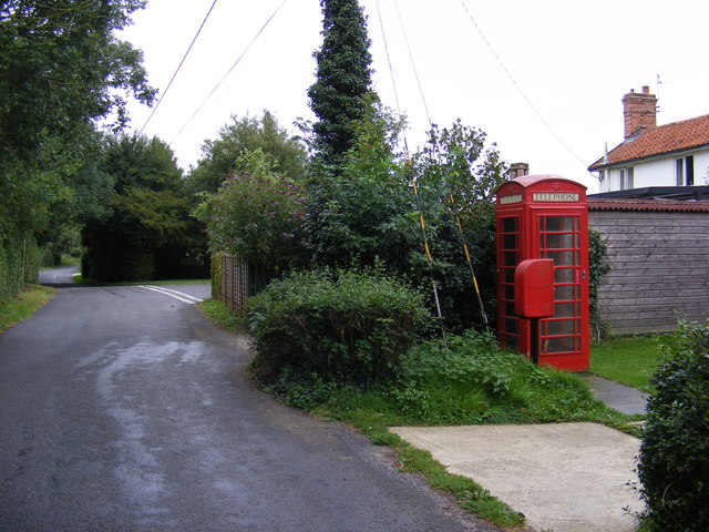 Rookery Road, Telephone Box & Rookery Road Postbox