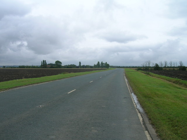 A161 towards Crowle