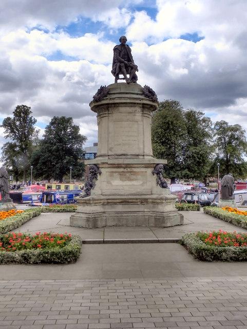 The Gower Memorial Statue, Bancroft Gardens.