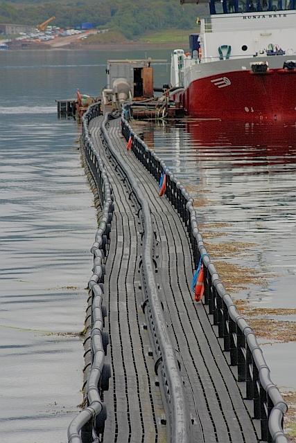 Pontoon for Fish Processing Plant