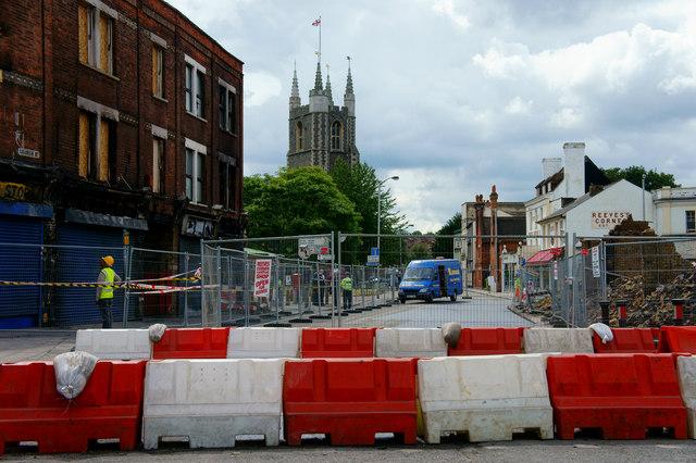 Croydon Riots - Church Street