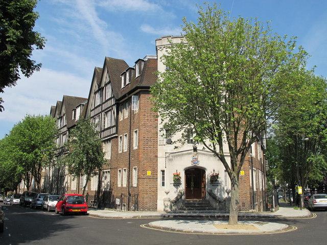 Hillsborough Court, Mortimer Crescent / Mortimer Place, NW6
