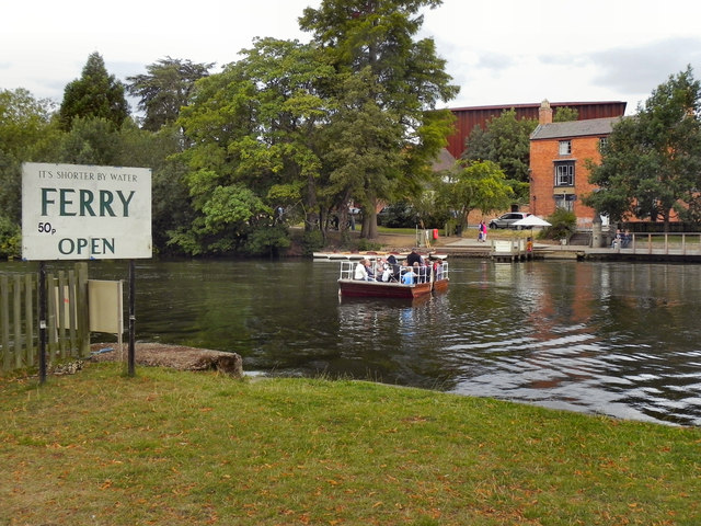 River Avon, Ferry at Stratford