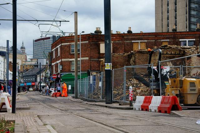 Croydon Riots - Reeves Corner