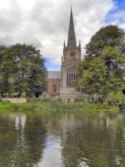River Avon, Holy Trinity Church